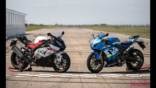 2017 Suzuki GSX-R1000R vs BMW S1000RR Review