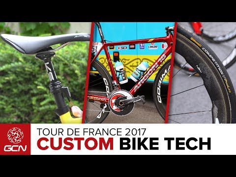 Custom Bike Tech At The Tour de France | Tour de France 2017