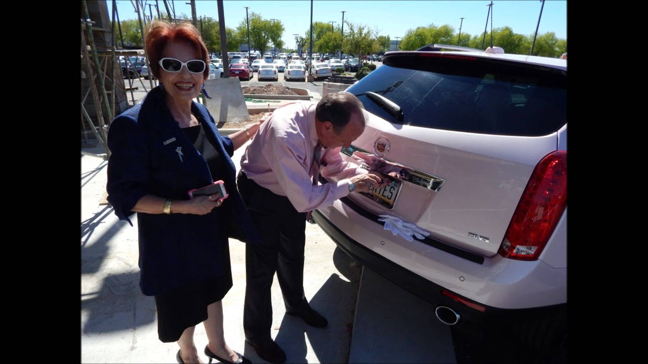 Gloria Stakemiller Mary Kay Pink 2015 SRX Cadillac - YouTube