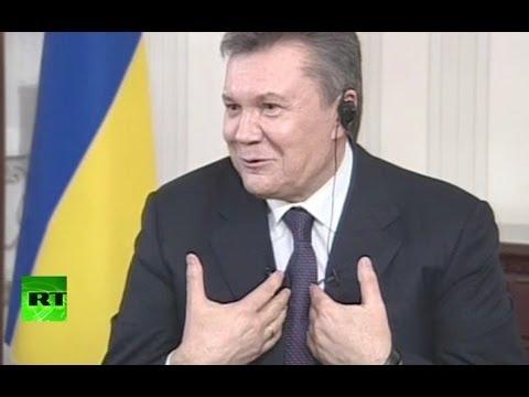 Януковича спросили про золотой батон