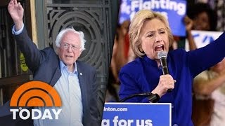 Hillary Clinton, Bernie Sanders Neck-And-Neck In California Primary | TODAY