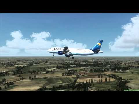 Condor A320 Landing at Bangkok