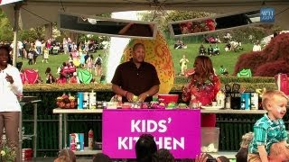 2012 White House Easter Egg Roll: Play With Your Food With Patrick And Gina Neely