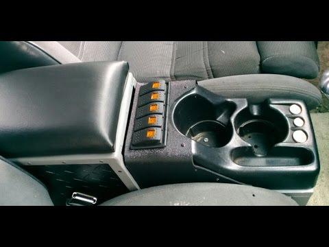 Ford Ranger: Interior Upgrades PT.2 - Custom Center ...
