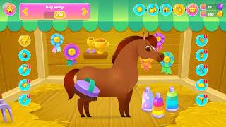 Pixie The Pony - My Virtual Pet  Gameplay, Trailer, Part-1