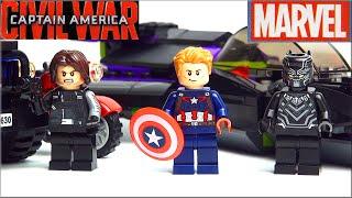 LEGO Marvel Super Heroes Black Panther pursuit 76047. Лего Супергерои Капитан Америка Обзор набора(, 2016-03-03T15:50:24.000Z)