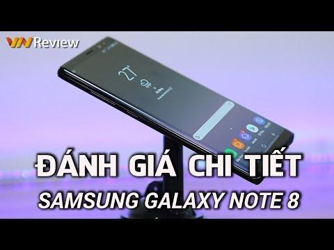 VnReview - Đánh giá chi tiết Samsung Galaxy Note 8