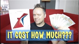 Carnival Cruise - How Much $$$ Did I Spend - Sunday Sofatime