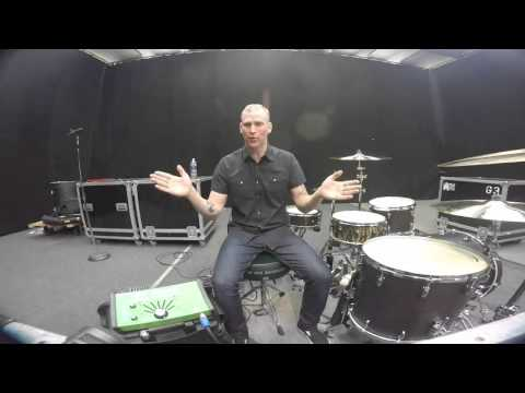 Kent Aberle and the Porter and Davies Gigster Tactile Monitor