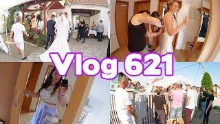 HOCHZEIT in BOSNIEN Teil1 l Das Hochzeitskleid, die feier bei der Braut l Vlog 621