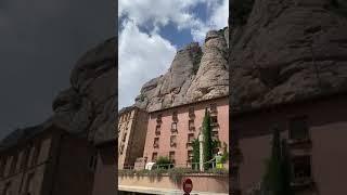 Монастырь Монсеррат 20.08.20, как видите туристов совсем мало Испания