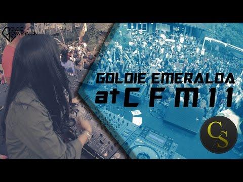Goldie Emeralda at #CFM11