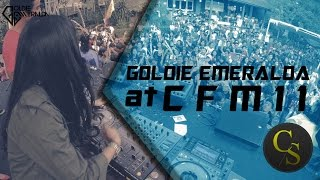 Goldie Emeralda at #CFM11