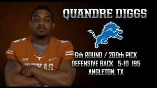 Highlights of Texas CB Quandre Diggs [May 2, 2015]