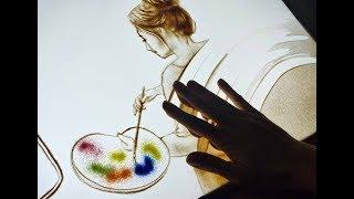 SAND ART ADVERTISING | ArtOmonde | Short version