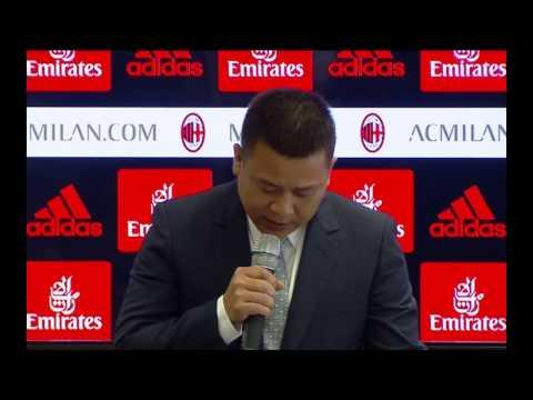 Conferenza stampa nuova proprietà a Casa Milan