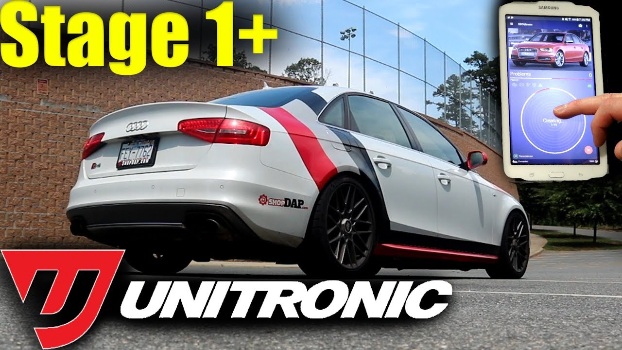 Supercharged Audi S4 Unitronic Stage 1 Ecu Tune How Does It Do