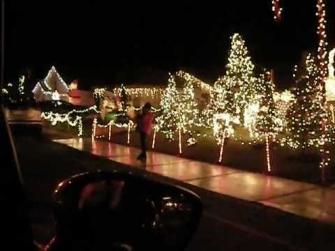 Candy Cane Lane in Cathedral City - Candy Cane Lane In Cathedral City - YouTube