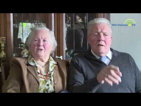 65 jarig bruidspaar in Wapenveld.
