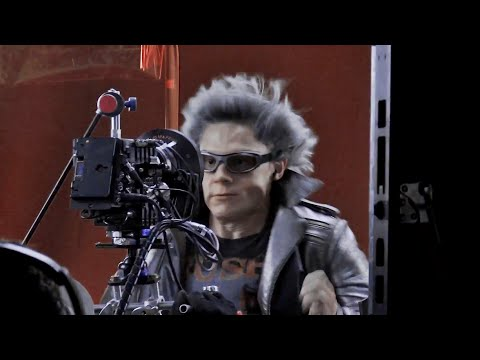 X Men Apocalypse - Behind The Quicksilver Scene [HD]