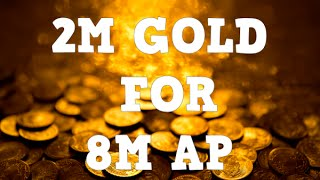 eso l 2m gold for 8m ap