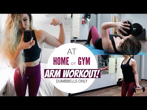 Dumbbell Flat Fly | Workouts To Tone Arms | Easy Gym Workouts For Women | Bombay Bellyrina