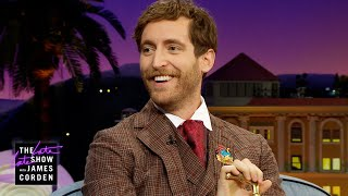 "An Invisible ""Magic Boy"" Kept Young Thomas Middleditch Well-Fed"