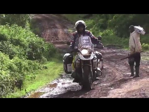 Africa off road adventure BMW R1200 GS