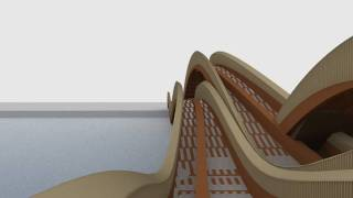 Footbridge Design - Inner Harbour Duisburg (sonja Van Der Meer).mkv