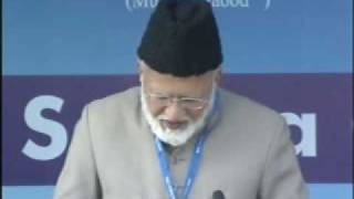 Ahmadiyya : Sadaqath Messiah Moud at Jalsa Qadian 2009 Day 3 Morning Part 1/2