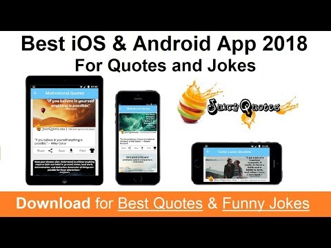 Best Android And IOS App 2020 For Quotes And Jokes - App For Motivation And Lots Of Laughs