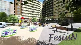 3D анимация ЖК. 3d animation of a residential complex. Заказать 3Д ролик.(, 2016-06-29T21:03:31.000Z)