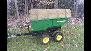 John Deere - 17P Tandem Hydraulic Dump Cart with Walking Beam Suspension - 20171112