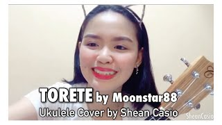TORETE - Moonstar88 | Ukulele Cover with Chords by Shean Casio
