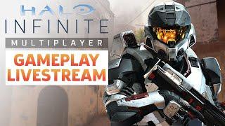 Halo Infinite Technical Alpha Gameplay Livestream