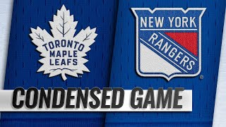 02/10/19 Condensed Game: Maple Leafs @ Rangers