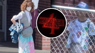 Stranger Things 4 is back b**ches (Photos From The Recordings) | Fotos Del Rodaje