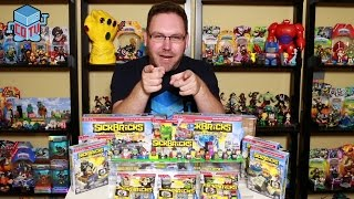 Sick Bricks Complete Collection Wave 1 Figures and Sets