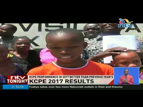 Parents, pupils continue celebrating the good KCPE results
