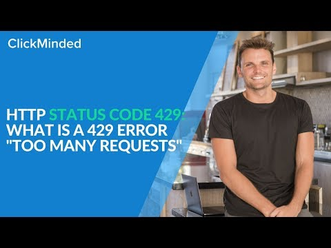 "HTTP Status Code 429: What Is a 429 Error ""Too Many Requests"" Response Code? (2018)"