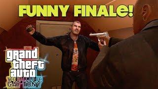 "HILARIOUS ""GTA 4:BALLAD OF GAY TONY"" FINALE GAMEPLAY"