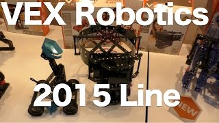 Hexbug Vex Robotics For 2015, Da Vinci Flyer, Catapult, Ball Machines And More!
