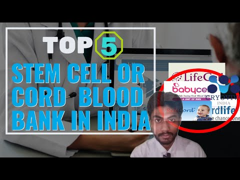 Top Cord Blood Bank & Stem Cell Bank in India? | Top 5 Stem Cell Bank | Times of Mytube