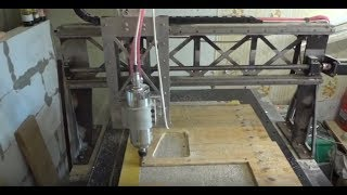 ЧПУ Обзор, тест станка из стали!  (HIWIN)