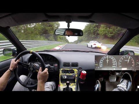 Nissan 200SX On Slippy Nürburgring Nordschleife S13 CA18DET 17.08.2019 日産 ニュルブルク 4K