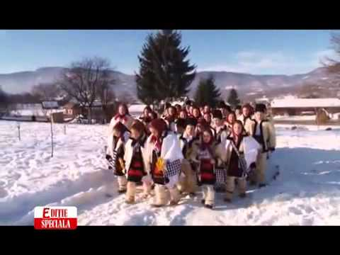 Traditional Christmas carols sung in the villages of Northern Romania