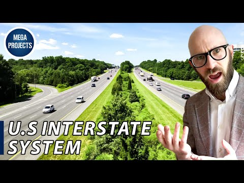 The US Interstate System: More than 40,000 Miles of Open Road