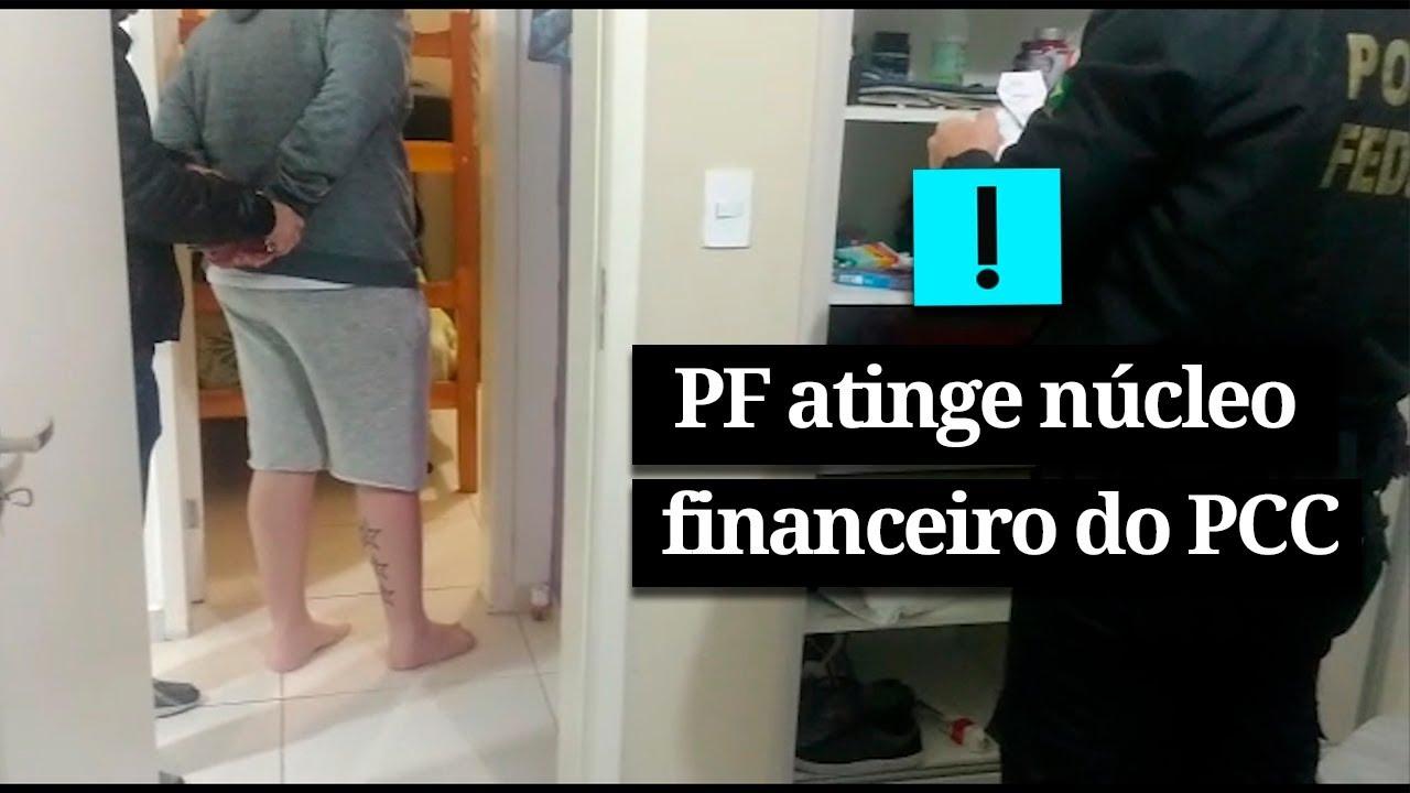 PF atinge núcleo financeiro do PCC