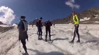 Courchevel X Trail glacier loop 2014