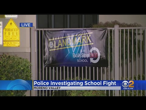 Fight At Moreno Valley Middle School Leaves One Student With Major Injuries